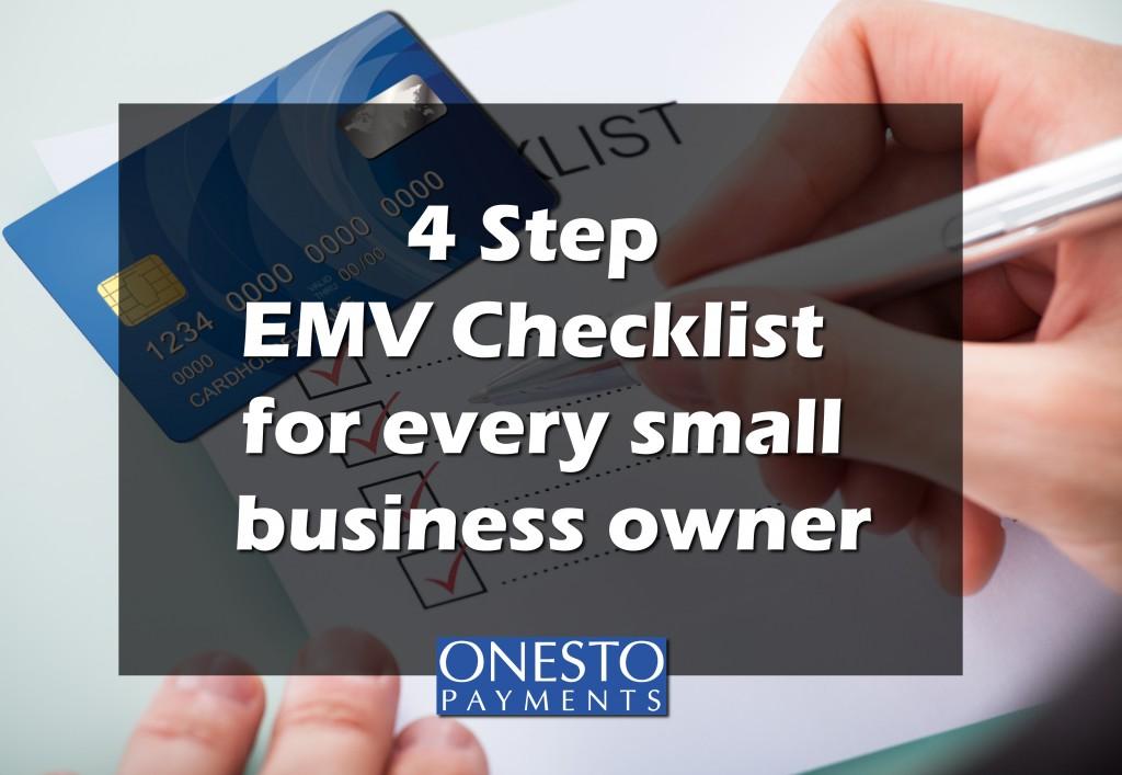 EMV checklist for small businesses